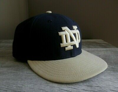 9ca5ac9518144 NOTRE DAME FIGHTING IRISH NEW ERA 59Fifty Diamond Era Fitted Cap Hat ...