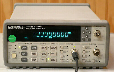 HP Agilent 53131A Universal Frequency Counter, 225MHz, opt 030 3GHz C-Chan GOOD