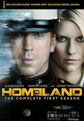 Homeland: The Complete First Season (DVD, 2012, 4-Disc Set) - Brand New