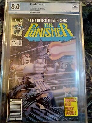 Punisher #1 - Circle of Blood - PGX 8.0 Canadian newsstand price variant