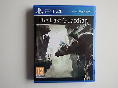 The Last Guardian on PS4 in MINT Condition