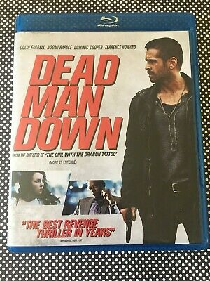 DEAD MAN DOWN Blu-ray Disc Canadian / US Release Colin Farrell Noomi Rapace Nice