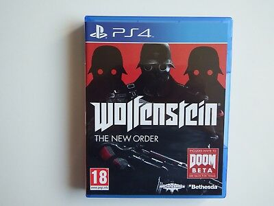 Wolfenstein: The New Order for PS4 in NEAR MINT Condition