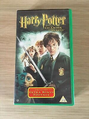 Harry Potter and the Chamber of Secrets VHS Video includes extra bonus footage