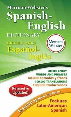 Merriam-Webster's Spanish-English Dictionary 9780877798248 (Paperback, 2014)
