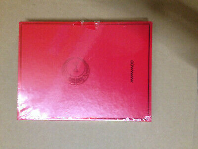 red moon mamamoo album kpop contains cd and photos