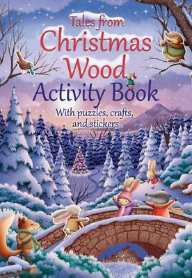 Tales from Christmas Wood Activity Book, Very Good Condition Book, Suzy Senior,