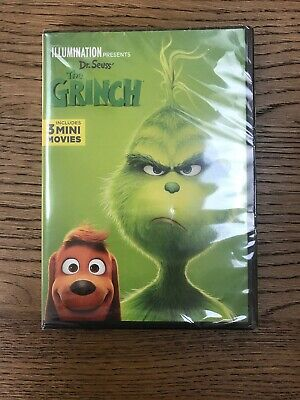 The Grinch (DVD, 2018) Free Fast Shipping Sealed FAST🚀