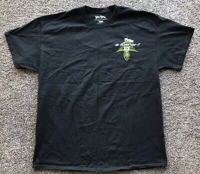 """Ed """"Big Daddy Roth"""" Rat Fink 'Fords Kick Butt' Graphic Tee Size XL"""