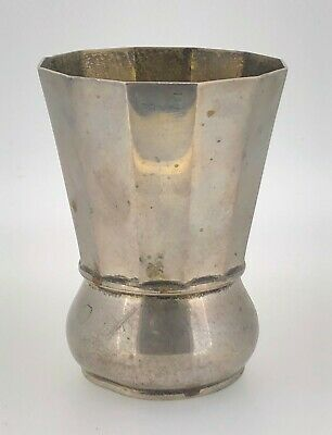 Vintage Antique Sterling Silver Cup