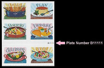 US 5197a Delicioso forever plate block set (6 stamps) MNH 2017