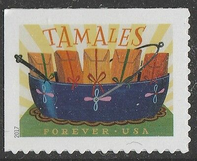 US 5192 Delicioso Tamales forever single (1 stamp) MNH 2017
