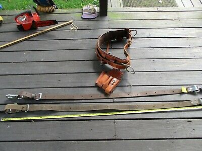 Bushkin Climbing Harness Klein And Buckingham Belts Preowned