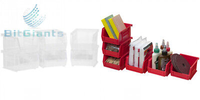 Akro-Mils 08212Sclar 30210 Plastic Storage Stacking AkroBins for Craft and...