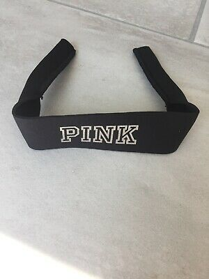 New Victoria's Secret PINK Black Logo Sunglass Strap