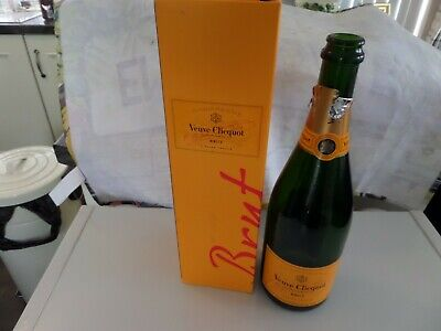 Verve Clicquot Empty 750ml Bottle and Box