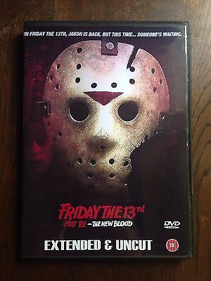 Friday the 13th Part VII -  (1988) - The New Blood - Uncut & Extended - DVD