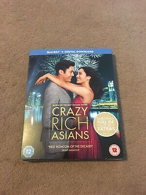CRAZY RICH ASIANS - Blu-ray + Download, 2019 -STILL SEALED - FREE P&P.