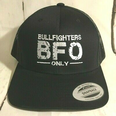 the best attitude 65f3d cfca8 Hooey Hat Bullfighters Only BFO Snapback ball cap BF004