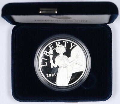 2016-S American Liberty Proof Silver Medal 1oz .999 Pure Silver w/ Box and COA
