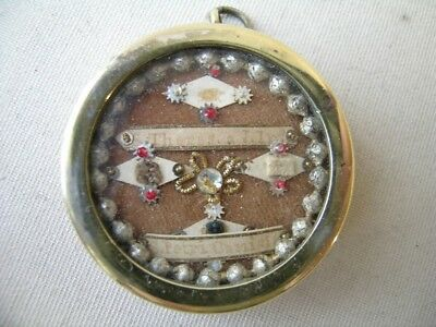 reliquary first class relic HAIR/CLOTHING Saint Thérèse of Lisieux / Peter Canis