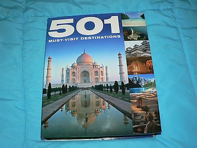 501 Must-Visit Destinations Book Travel
