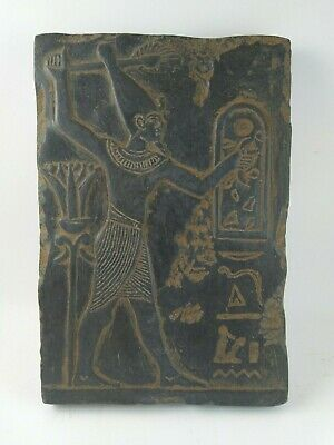 RARE ANCIENT EGYPTIAN ANTIQUE RAMSES II Stela 1279-1213 BC