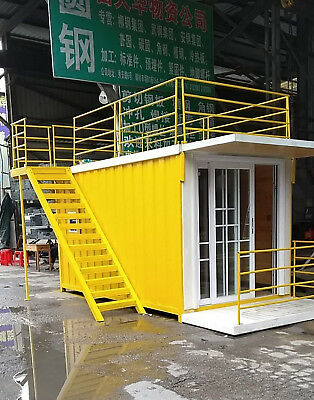 New Anti-Corrosion 4mx2.2mx2.3m Container House Home Office Hotel Shipped by Sea
