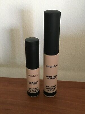 Smashbox Photo Finish Shadow Primer / Lid Primer in LIGHT - .08 And .02 NWOB!