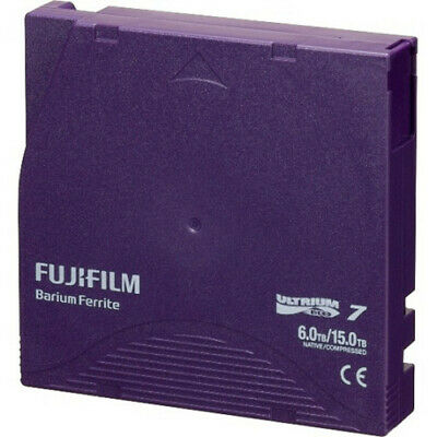 FUJIFILM LTO Ultrium 7 6TB Data Cartridge Tape with Barium Ferrite Technology