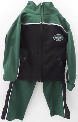 New York Jets Jacket Toddler Track Suit Jacket 3T Reebok NFL Zippered Pockets
