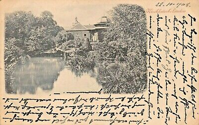 Kirchheim Colanden Germany 1908 Photo Postcard