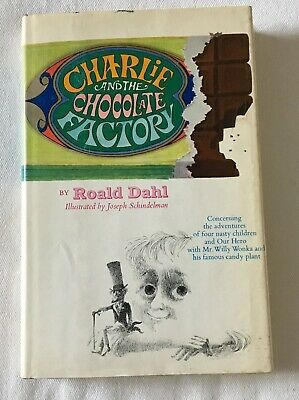 CHARLIE AND THE CHOCOLATE FACTORY by ROALD DAHL - 1964 EARLY PRINTING HARDCOVER