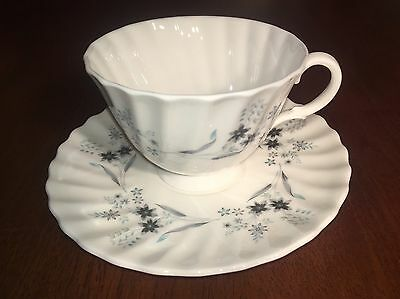 Royal Doulton England Bone China Cup And Saucer Millefleur Pattern