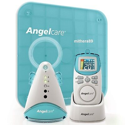 Angelcare AC401 Movement & Sound BABY MONITOR + Sensor Pad Breathing Alarm VGC !
