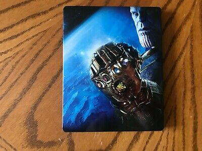 Avengers Infinity War STEELBOOK (4K/Blu-Ray) Best Buy no digital code