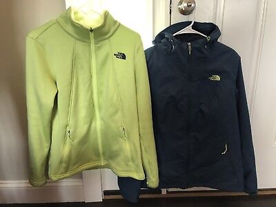 8ebe00a83 THE NORTH FACE WOMEN'S 3-in-1 Highanddry Triclimate Jacket Shady Blue Size  Large