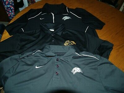 573b12ddd LOT OF 3~MENS~NIKE Golf~Dri Fit~Polo Shirts~Sz Xl~S/s~Polyester ...