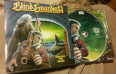 Blind Guardian rare Nems Follow the Blind 4 Different bonus tracks