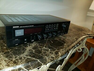 VINTAGE DENON DRA-25 AM/FM Stereo Receiver Precision Audio Component Sounds  Grea