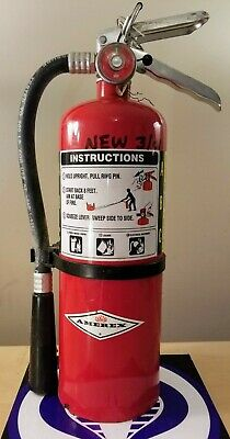 Amerex Fire Extinguisher A500 New Unused 5Lb Co2