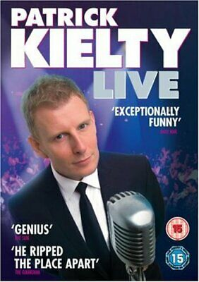 Patrick Kielty - Live [DVD], DVD, New, FREE & Fast Delivery
