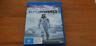 Interstellar Blu-ray As New 2 Disc Matthew McConaughey