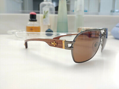 29979aed2593 NEW with Case 100% Authentic Chrome Hearts Sunglasses The Brown