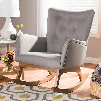 Miraculous Baxton Studio Flora Mid Century Modern Light Grey Fabric And Gmtry Best Dining Table And Chair Ideas Images Gmtryco