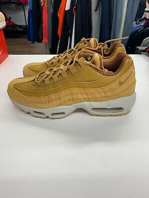best website 2651f f17ad Nike Air Max 95 SE Wheat Pack Light Bone Black Men s SZ 9 AJ2018-700