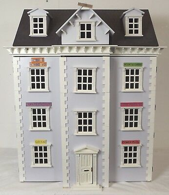 Modern Dolls House Mansion 1/12th Scale *Made Up & Painted* Town House Shop