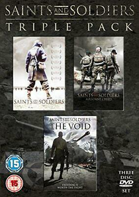 Saints and Soldiers Triple Pack - Limited Edition [DVD], New, DVD, FREE & Fast D