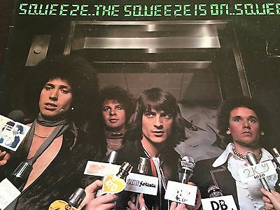"THE SQUEEZE - The Squeeze is On - - Australian Hard Rock - - 1977 LASER 12"" LP"