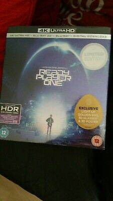 Ready Player One Collectors Edition 4K UHD+Egg Light+3D+2D /
